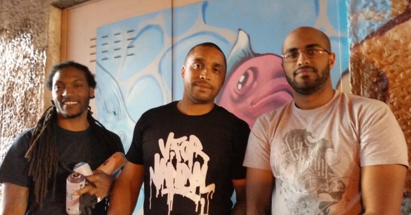 Rencontre avec Babs et Keyone autour du graffiti, du dessin et du tatouage.