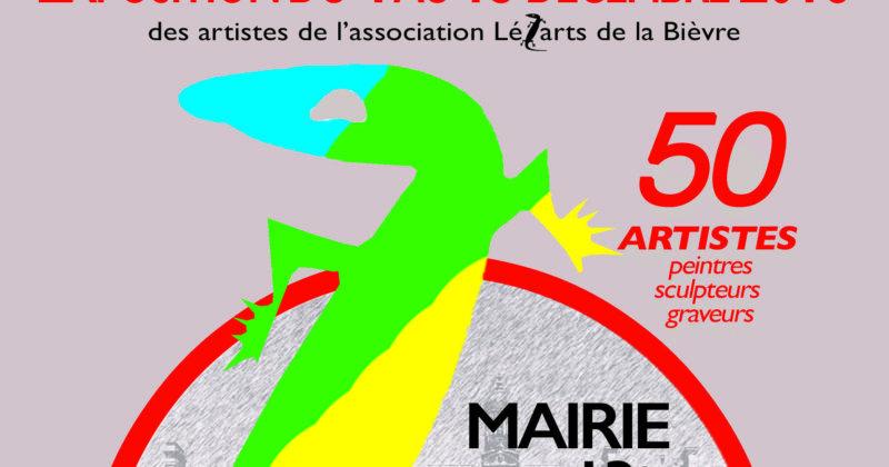 Du 4 au 13 décembre 2018 : 50 artistes des Lézarts exposent à la Mairie du 13e