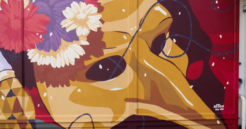L'artiste urbain de l'année 2019 : RETRO GRAFFITISM