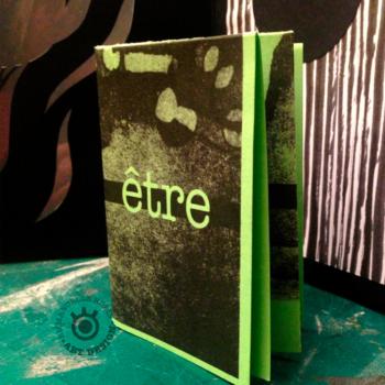 livre d'artiste «être»