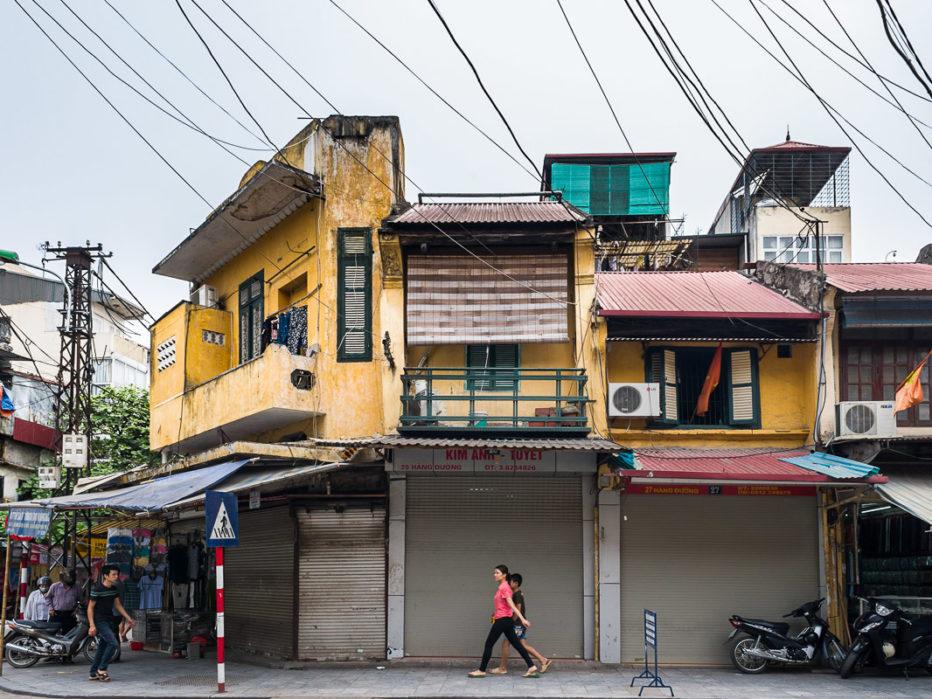 Hanoi, rue Hàng Duong : la rue du sucre