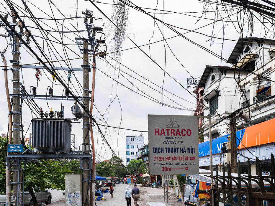 Hanoi, rue Dào Tân