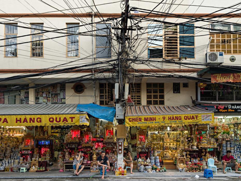 Hanoi, rue Hàng Quât