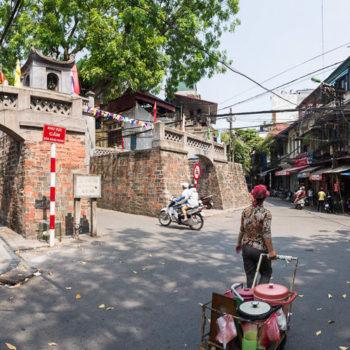 Hanoi, la porte de l'Ouest