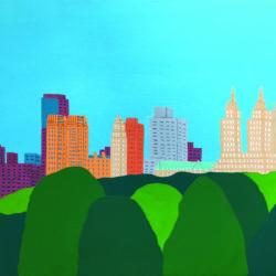 New York : Central Park vu du MET