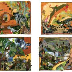 1-bis Quatre collages