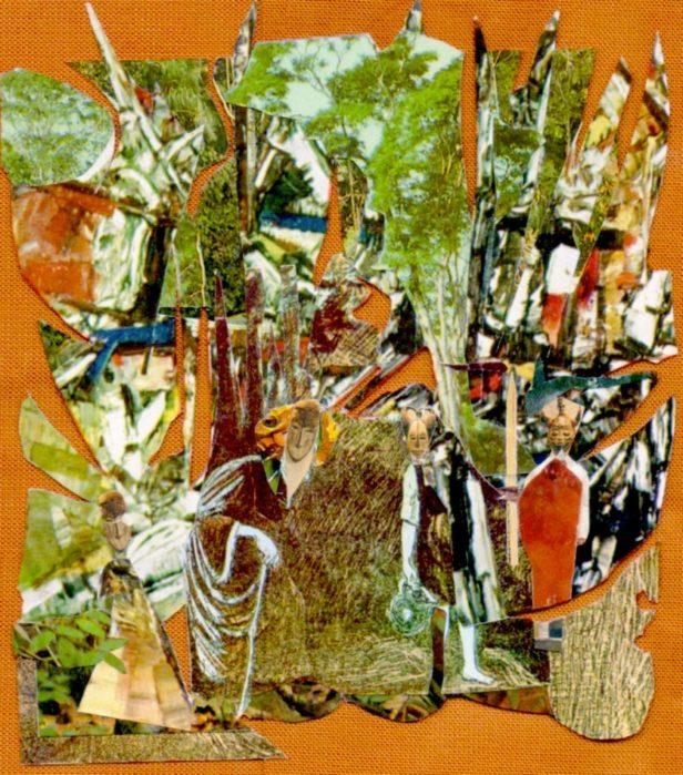 2- collage Tutuola ( livre)