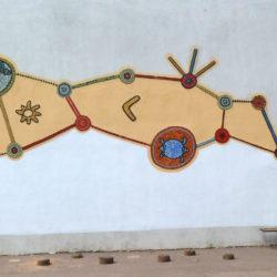 Mosaique murale participative
