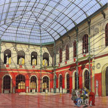 Les Galeries des Beaux-Arts