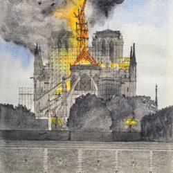 Notre-Dame l'incendie du 15 avril 2019