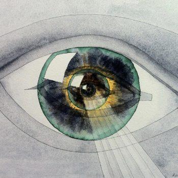 Oeil en abyme (en hommage à CN Ledoux)