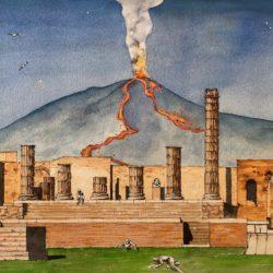 Pompeï 25 août 79