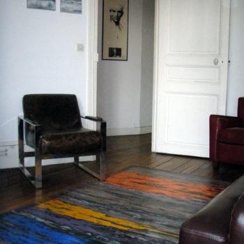 tapis peinture
