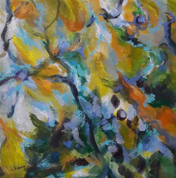 Sans Titre Acrylique  sur toile 20 x 20