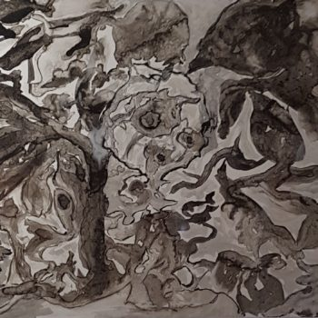 Animaux sauvages (encre de Chine)