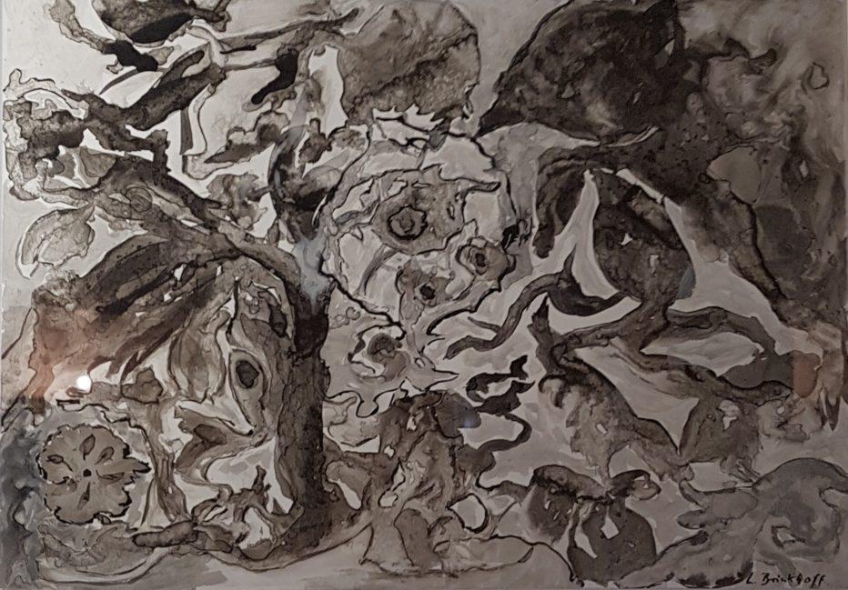 Animaux sauvages (encre de Chine)