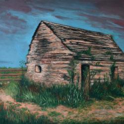 La lépreuse – Huile sur toile – 65 x 54 cm – Mai 2020