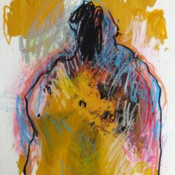 silhouette jaune