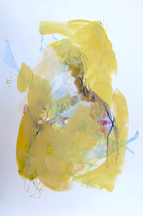 silhouette ocre jaune 1