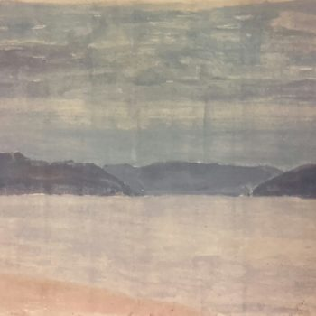 2018 Huile sur toile 43×16 – K Eda4