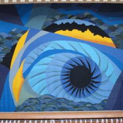 2017 Grand soleil noir 176×145 lin,laine;coton