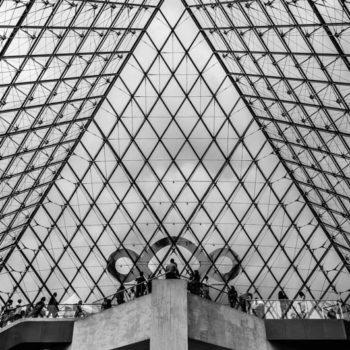 Paris, Pyramide du Louvre