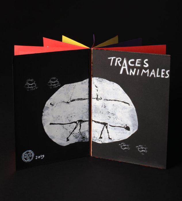 POP UP : livre «Traces Animales»