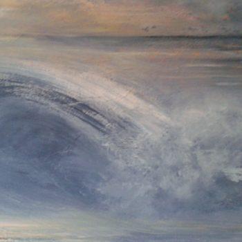 la grande vague   (acrilique sur toile 65x80cm)