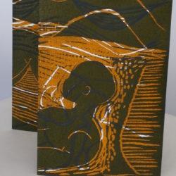 L'Un et l'Autre – Linogravure – Pliage