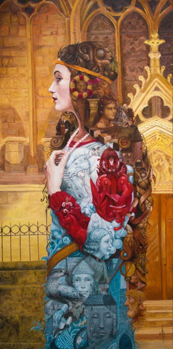 «Jeune Fille au Collier Rose»