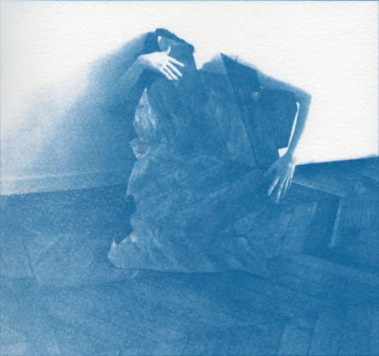 «Sonne l'automne 1», cyanotype de Coralie Maniez